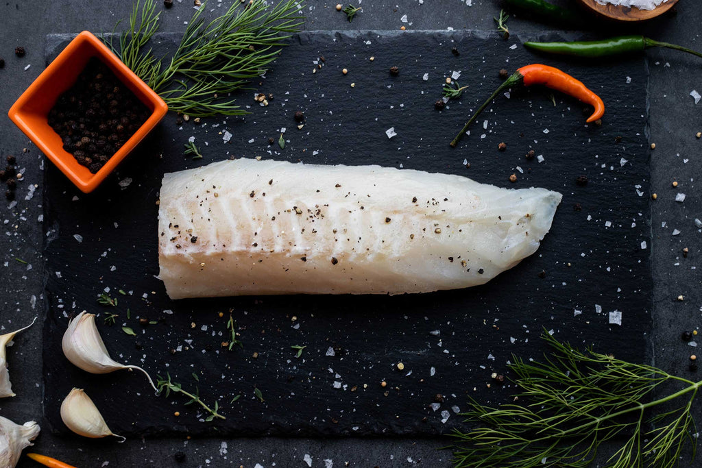 A delicious looking portion of wild-caught Alaska lingcod