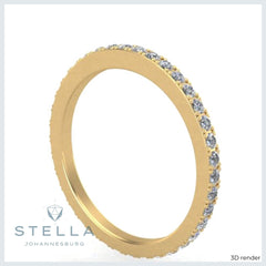 1-6mm-yellow-gold-pavé-eternity-band