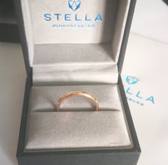 2mm | Rose gold band