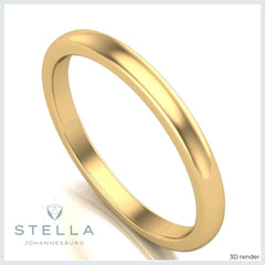 2mm-yellow-gold-band