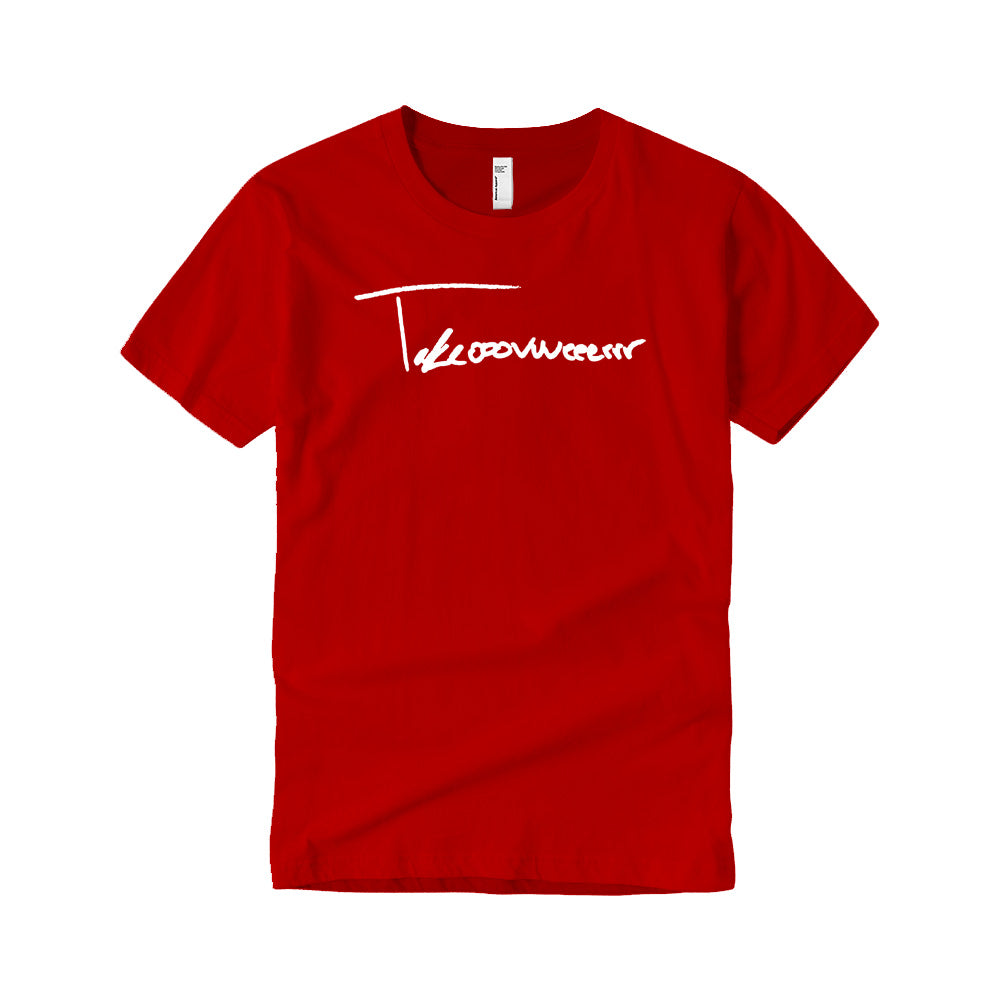 Takeover Signature T-Shirt (Red/White)