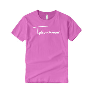 Takeover Signature T-Shirt (Pink/White)