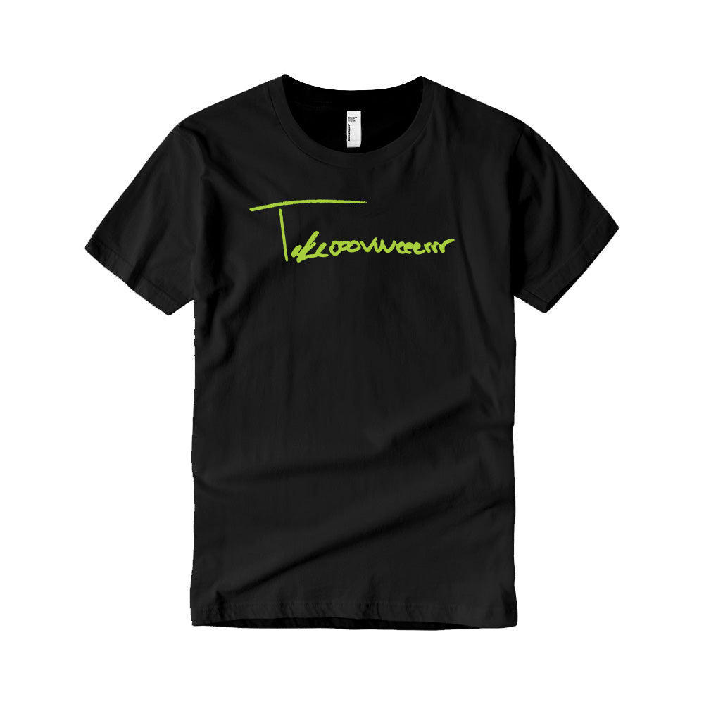 Takeover Signature T-Shirt (Black/Neon Green)