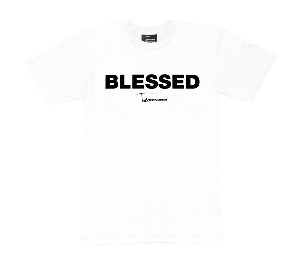 Takeover Blessed T-Shirt (White/Black)