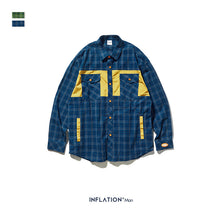 Load image into Gallery viewer, INF | Checked Letter Print Shirt