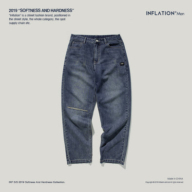 INF | Ripped Straight Pants