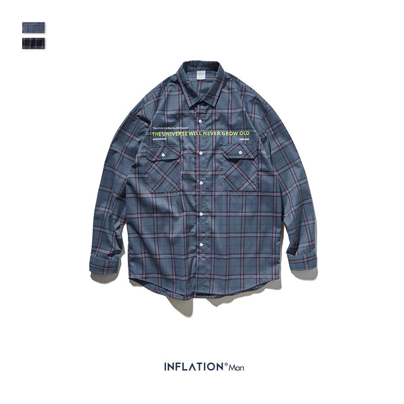 INF | Checked Wild Shirt