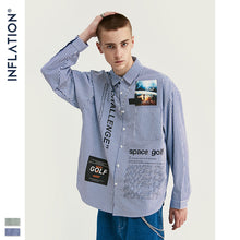 Load image into Gallery viewer, INF | Fashion Striped Wild Shirt