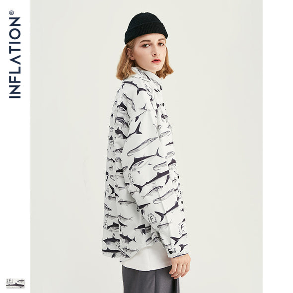 INF | Full Version Digital Loose Shirt