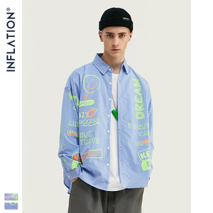 INF | Fluorescent Graffiti Shirt