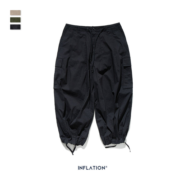 INF | Cropped Wide Leg Pants