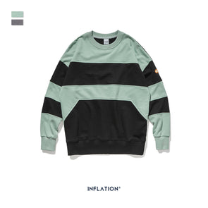 INF | Contrast Color Loose Sweater