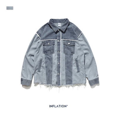 INF | Colorblock Loose Jacket