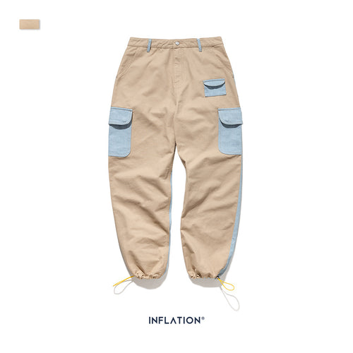 INF | Casual Gathered Cargo Pants