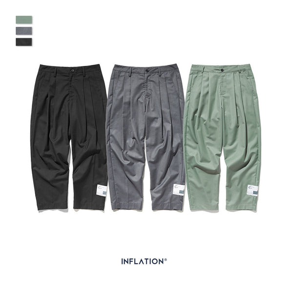 INF | Casual Loose Straight Pants