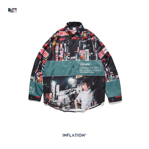 INF | Digital Japan Street View Culture Shirt