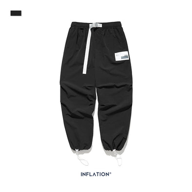 INF | Drawstring Waist Casual Pants