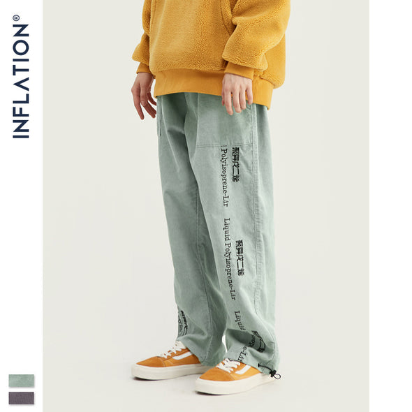 INF | Chinese and English Straight Pants