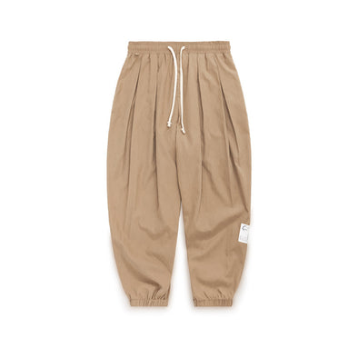 INF | Solid Color Loose Stretch Pants