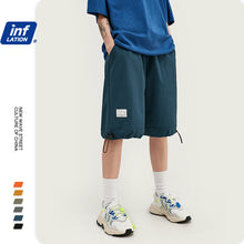 Load image into Gallery viewer, INF | Solid color stretch track pants