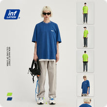 Load image into Gallery viewer, INF | Simple solid color loose short T-shirt
