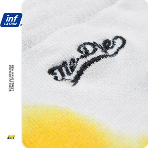 INF | Color Embroidered Cotton Socks