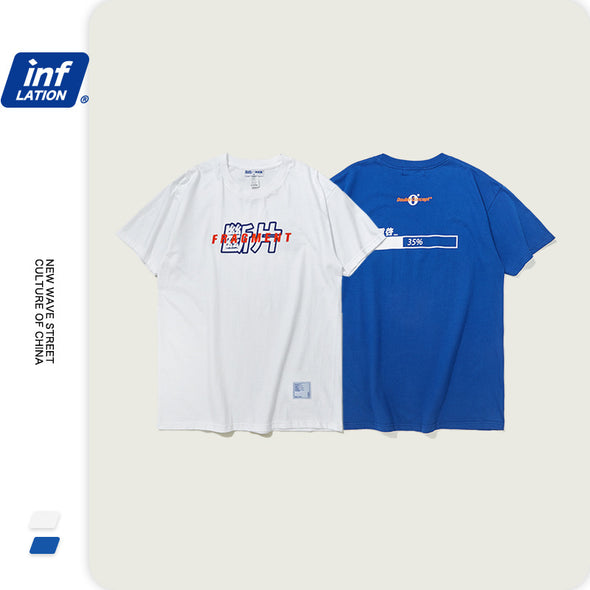 INF | Text print short sleeve