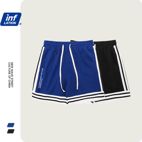 INF | Side Stripe Loose Track Pants