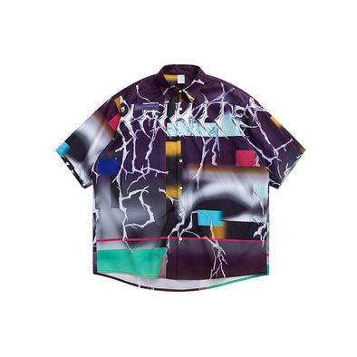 INF | Thorns Digital Print Shirt