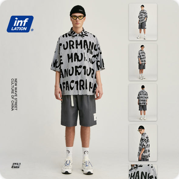 INF | Full Version of English Oversize Shirt