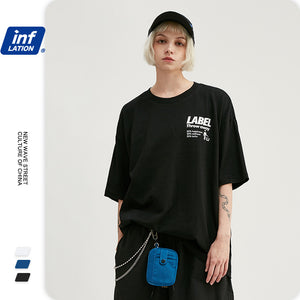 INF | Tide Brand Fun Letter T-shirt