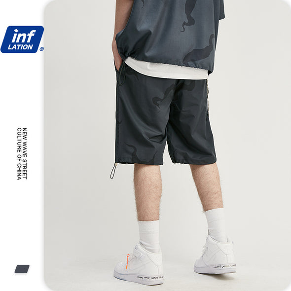 INF | Diablo Twisted Shirt Shorts