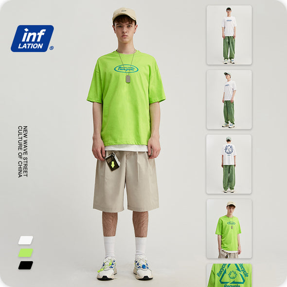 INF | Recyclable Loose Short T-shirt