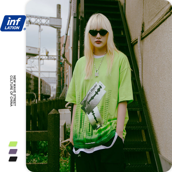 INF | Spoof Loose Short T-Shirt