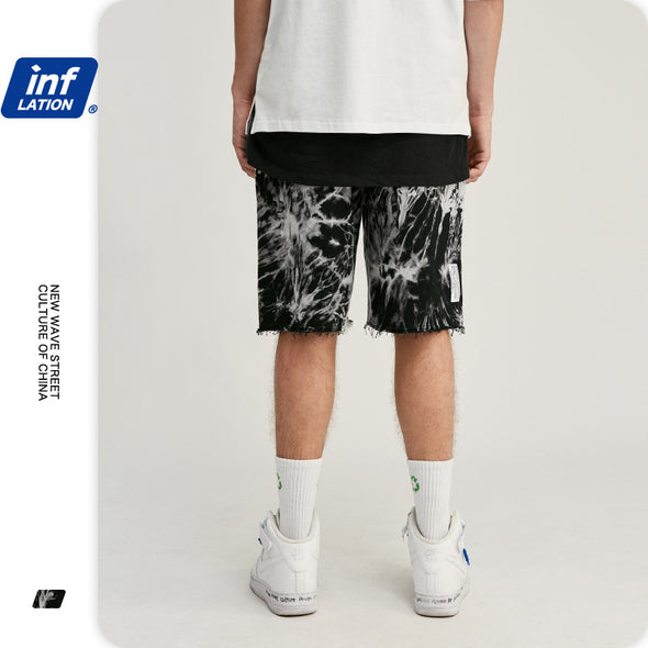 INF | Tie-dye Loose Shorts