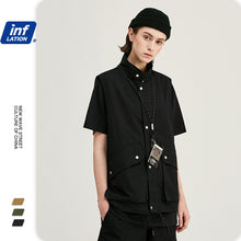 Load image into Gallery viewer, INF | Vest Loose Fit Shorts Suit