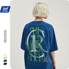 Load image into Gallery viewer, INF | Letter Loose Casual T-shirt