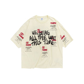 INF | Graffiti English Oversize T-shirt