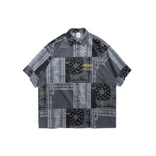 Load image into Gallery viewer, INF | Retro Ethnic Short Shirt