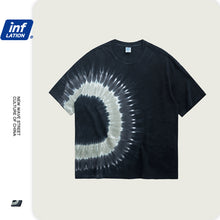 Load image into Gallery viewer, INF | Dark Spiral Abstract T-shirt