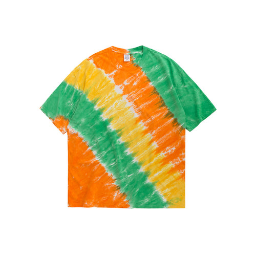 INF | Candy-colored Diagonal Stripes T-shirt