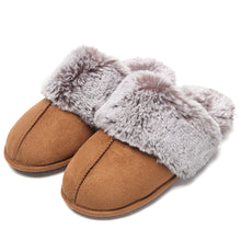 Load image into Gallery viewer, Lady Fluffy Furry Slippers