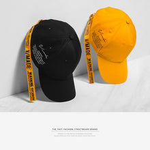 Load image into Gallery viewer, INF | Letter Print Couple Baseball Cap