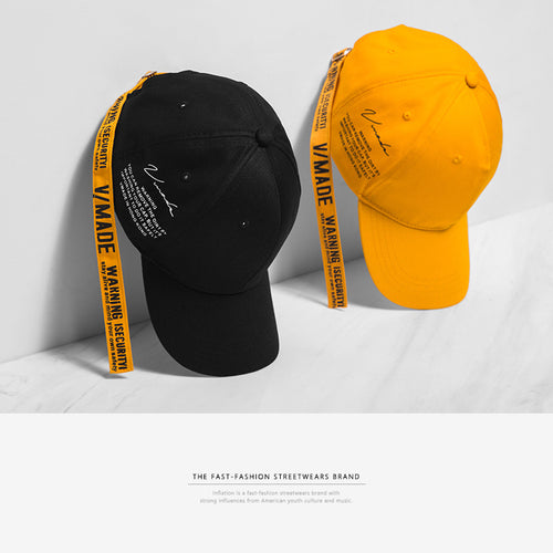 INF | Letter Print Couple Baseball Cap