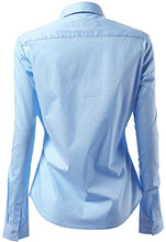 Load image into Gallery viewer, LadyCare Dress Shirt for Women - Long Sleeve Women Tops Blouses,Light Blue
