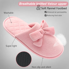 Load image into Gallery viewer, LadyCareWomens House Slipper Clog with Memory Foam,pink