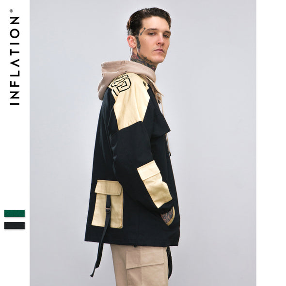 INF | Functional Wind Contrast Color Jacket