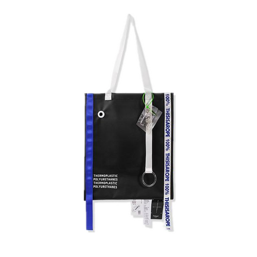 INF | Tpu Letter Streamer Shoulder Bag
