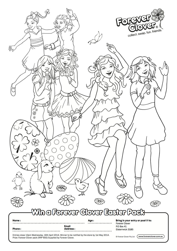 Easter Colouring Competition!