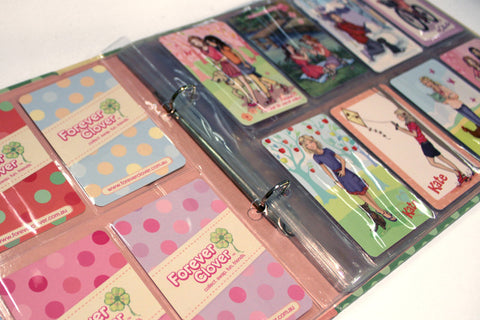 Spare Plastic Pockets for Swap Card Album (Series 1)